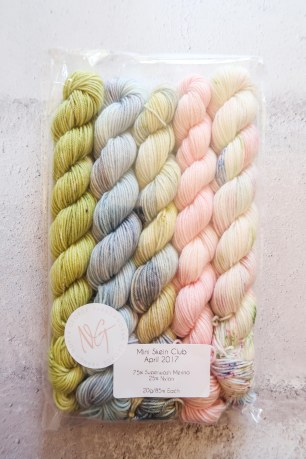 April Mini Skein Club